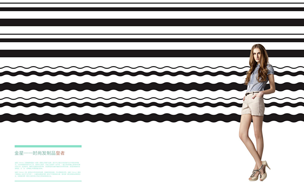 金星高端时尚假发品牌VI设计