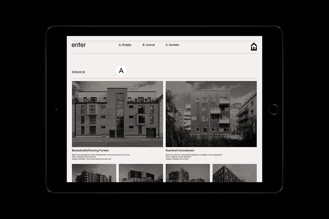 Enter Arkitektur