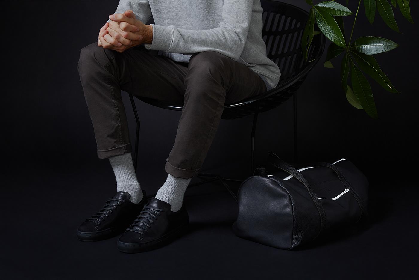 Hotel Motel高端运动鞋品牌VI设计欣赏