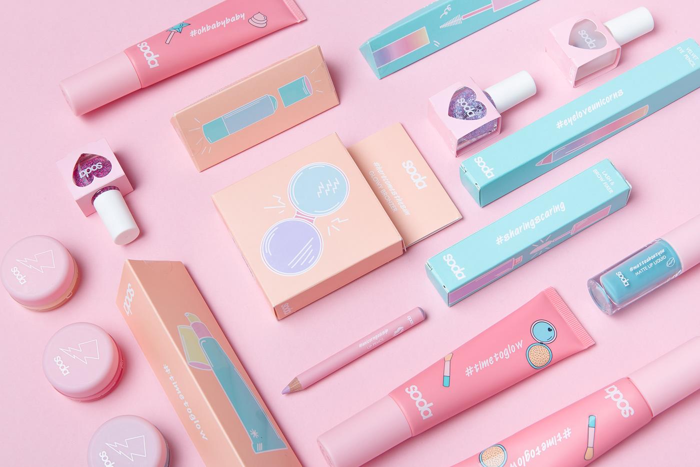 soda化妆品包装设计